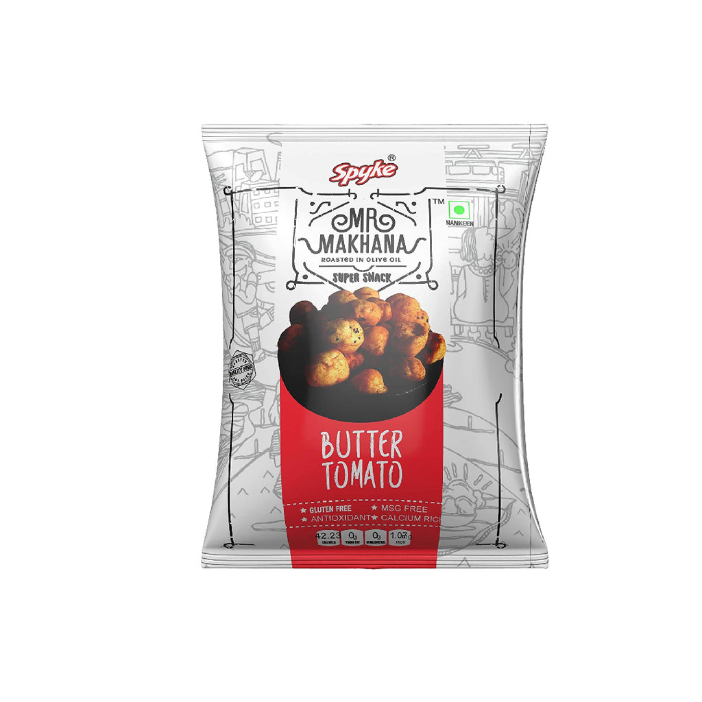 Spyke Mr. Makhana Butter Tomato 80Gm