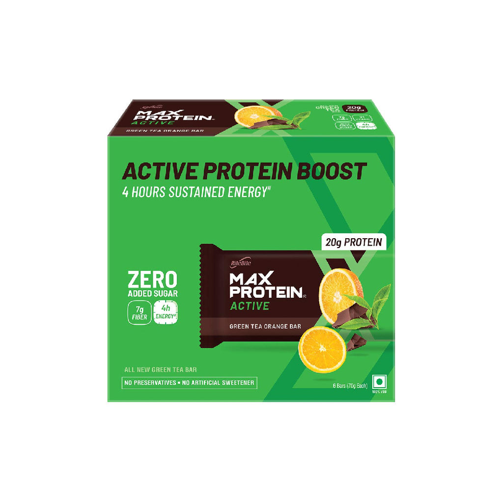Rb Max Protein Active Green Tea Orange