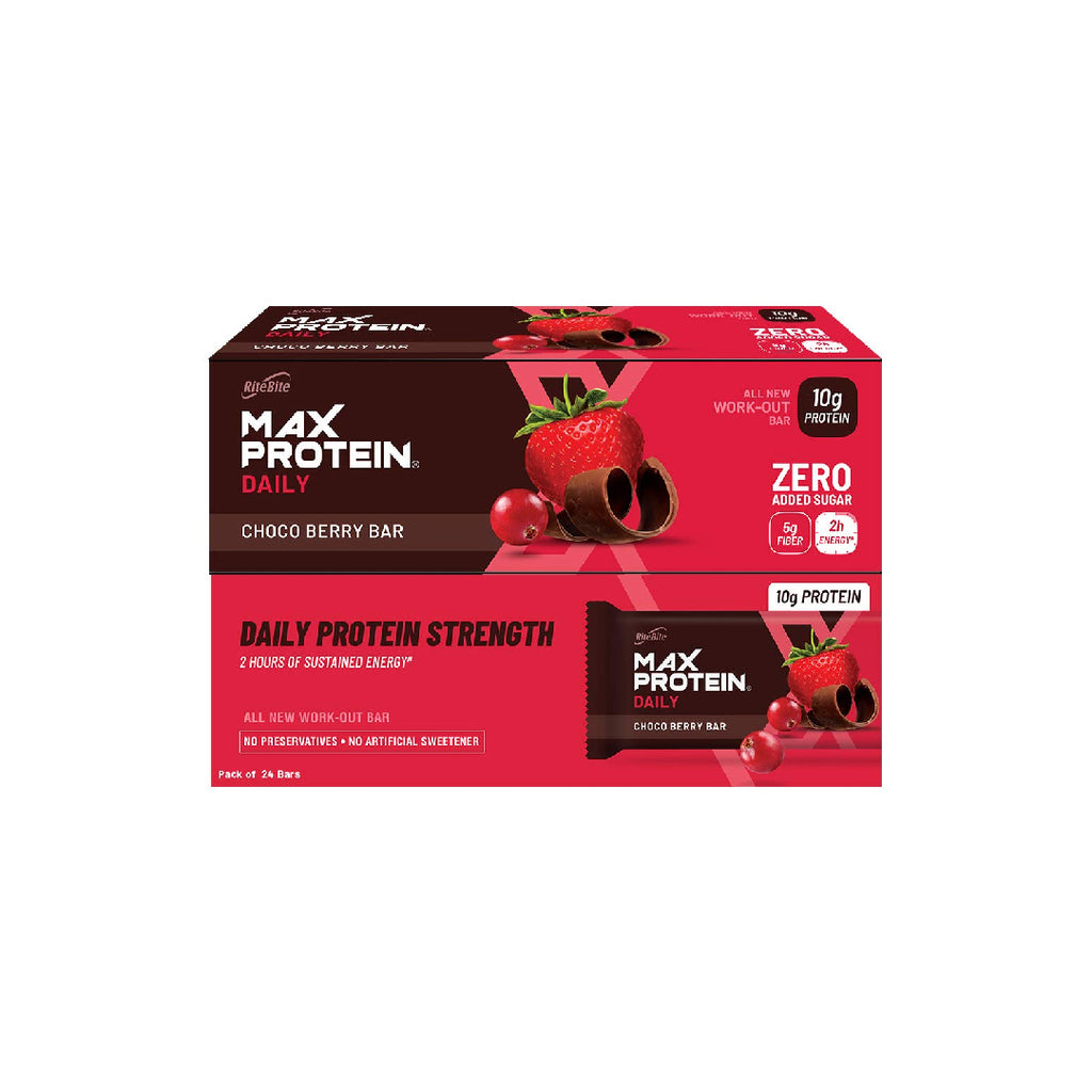Rb Max Protein Daily Choco Berry Bar