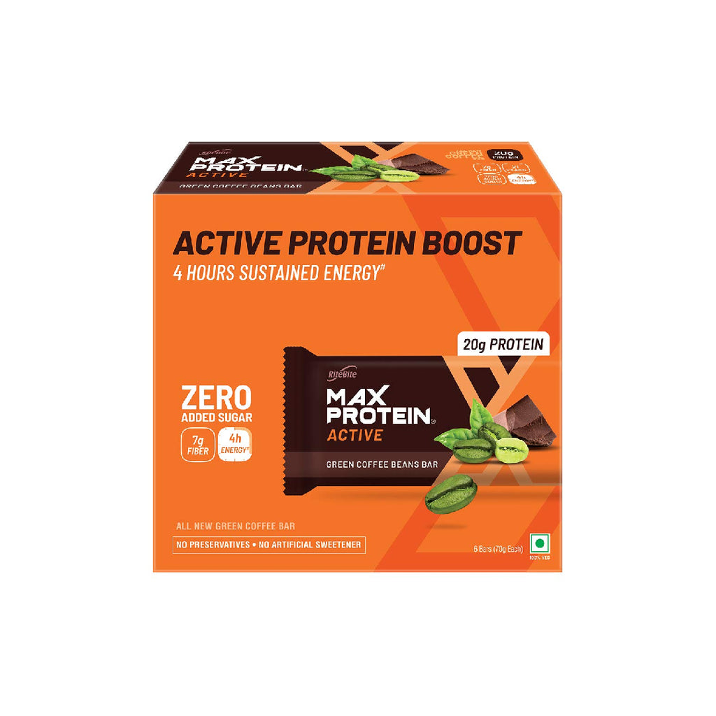Rb Max Protein Green Coffee Beans 70Gm
