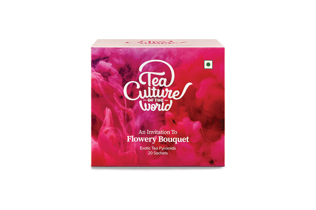 Tea Culture of The World Flowery Bouquet - 20 Tea Bags