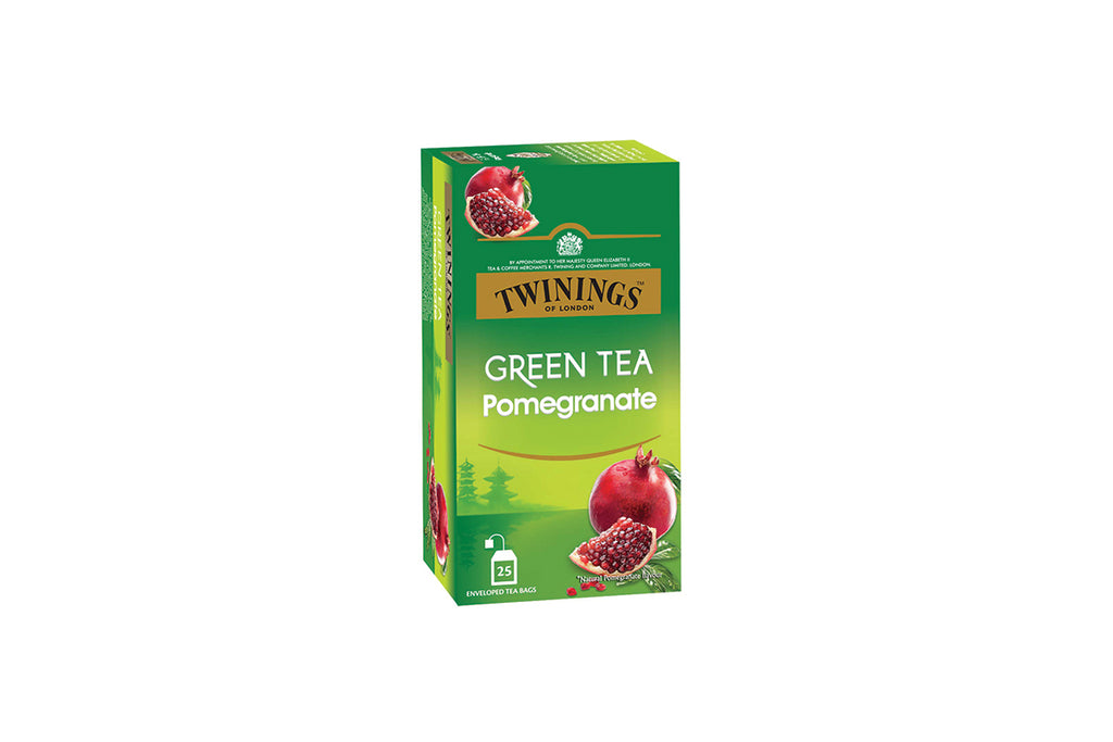 Twinings Green Tea Pomegranate - 25 Tea bags