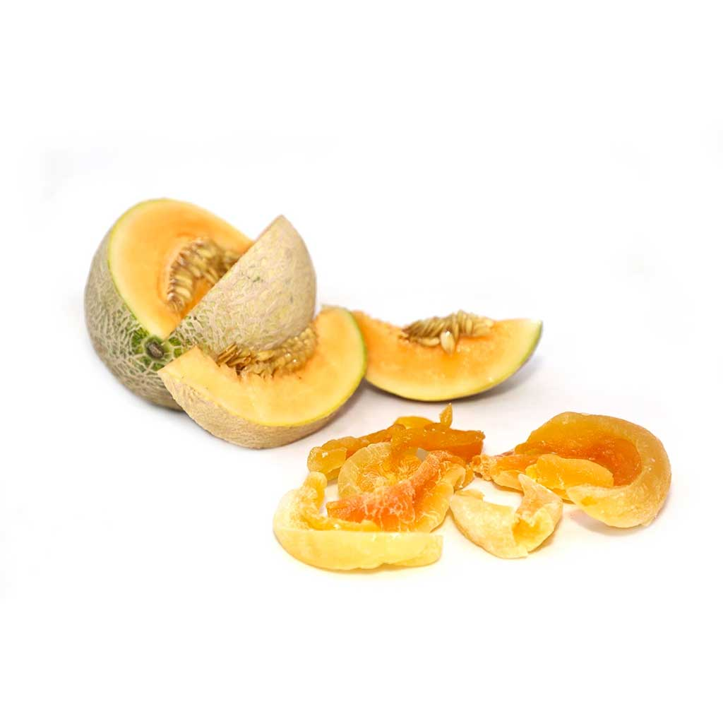 Dried Cantalope