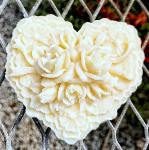 Gift Soap:  Heart and Roses