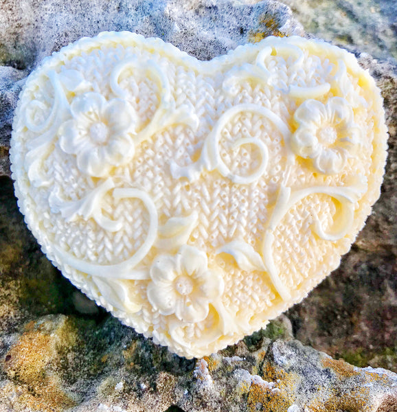 Gift Soap:  Heart with Vine