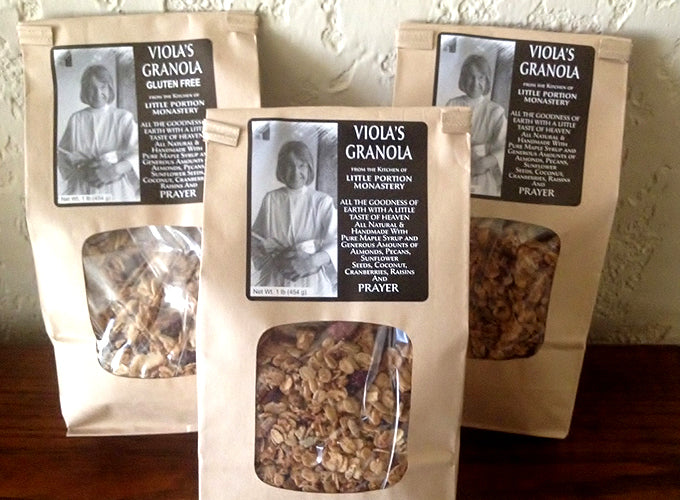 Three Bags of Viola's Granola ~ Save on Shipping!