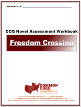 Load image into Gallery viewer, Freedom Crossing CCQ Workbook (Reading Level R+ - 720L+)