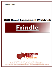 Load image into Gallery viewer, Frindle CCQ Workbook (Reading Level R - 830L)
