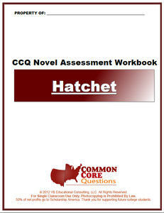 Hatchet CCQ Workbook (Reading Level R - 1020L*)