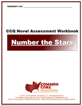 Load image into Gallery viewer, Number the Stars CCQ Workbook (Reading Level U - 670L++)