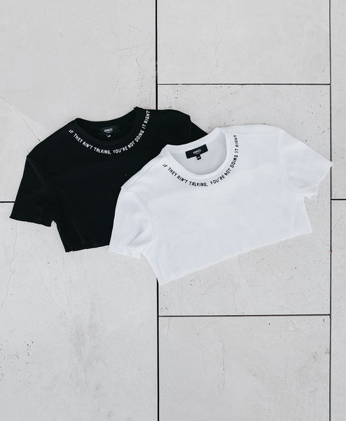 NECK  DESIGN CROP TOP