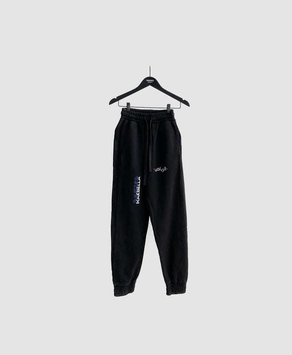 SAUDI LOVE PANTS BLACK