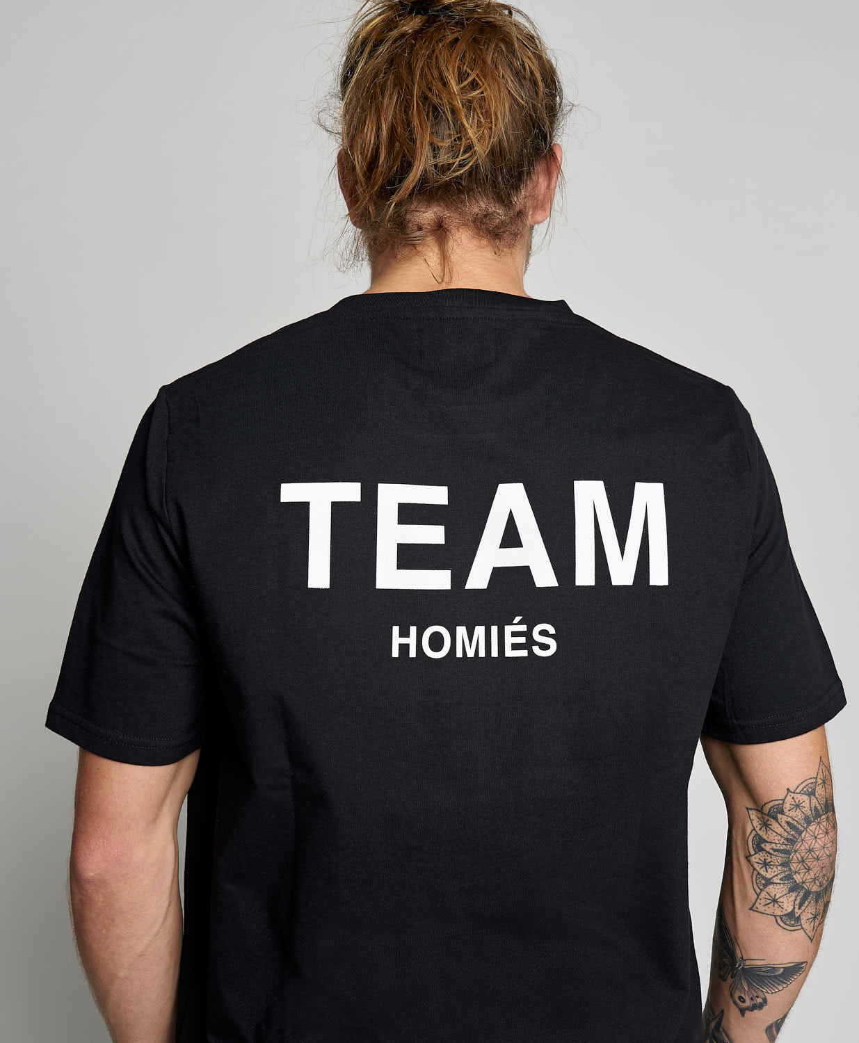 TEAM HOMIES T-SHIRT BLACK