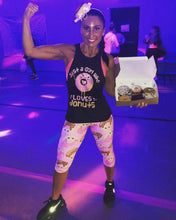 Load image into Gallery viewer, Donut Printed leggings, Capris and Shorts