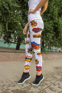 Kapow Leggings, Capris and Shorts
