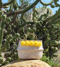 Load image into Gallery viewer, BORREGO X BORNEO No. 2 - Woven Straw Basket Bag