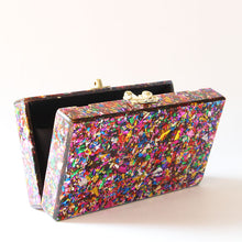 Load image into Gallery viewer, *Bright & Beautiful acrylic box bag* FREE SHIPPING WORLDWIDE!