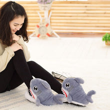 Load image into Gallery viewer, Shark Cotton Slipper