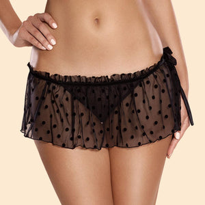 Flirty Maid Skirt & G-String Panty Ajour Capriccio