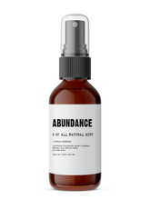 Load image into Gallery viewer, Abundance - Meditation/Body Mist - Made with All Natural Ingredients