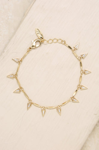 Dangerous Game Crystal Dagger Bracelet
