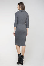 Load image into Gallery viewer, Knit Fitted Dress