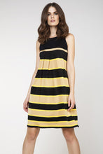 Load image into Gallery viewer, Sleeveless Striped Dress