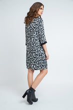 Load image into Gallery viewer, Animal Print Sack Dress
