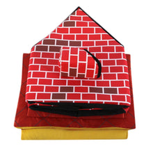 Load image into Gallery viewer, Christmas Dog House Pet Bed Tent Cat Kennel Indoor