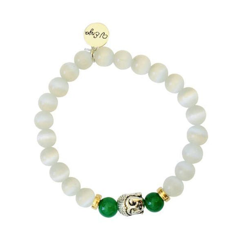 Buddha Bracelet ~ Cat's eye