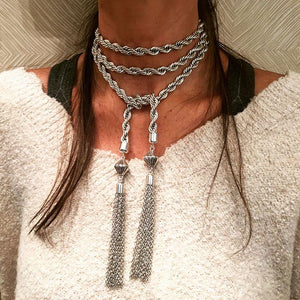 Evy Tassel Necklace