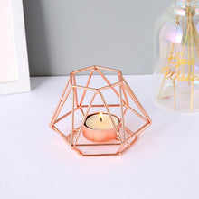 Load image into Gallery viewer, Geometric Tea light holders