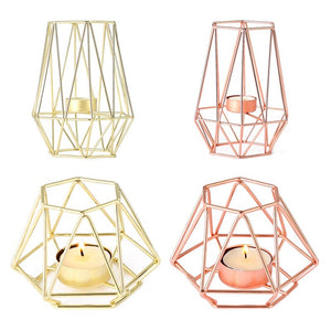 Geometric Tea light holders