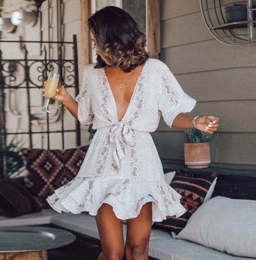 Gorgeous short boho dress