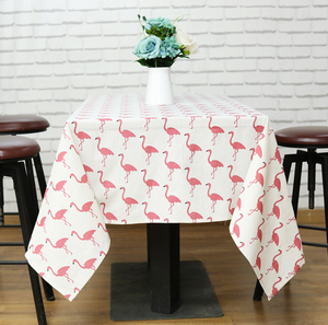 Retro Flamingo Tablecloth
