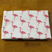 Load image into Gallery viewer, Retro Flamingo Tablecloth