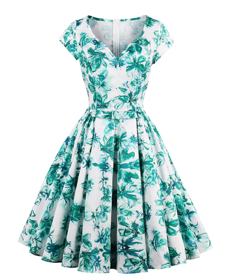 Stunning Floral swing dress
