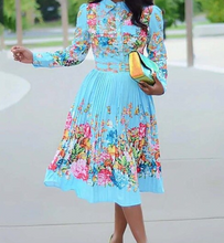 Load image into Gallery viewer, Beautiful bright Midi Dress