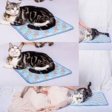 Load image into Gallery viewer, Summer Cooling Mats Blanket Ice Pet Dog Bed Mats