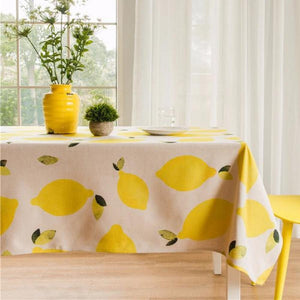 Lemon Indoor / Outdoor Tablecloth
