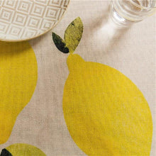 Load image into Gallery viewer, Lemon Indoor / Outdoor Tablecloth
