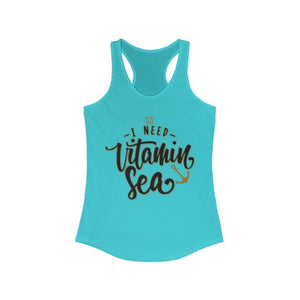 I Need Vitamin Sea Racerback Tank Top