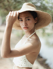 Load image into Gallery viewer, Riri Jute Sun Hat