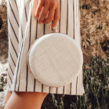 Load image into Gallery viewer, Matta Blanc Woven Hard Clutch