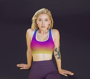 Unicorn Ombre Fitness Set