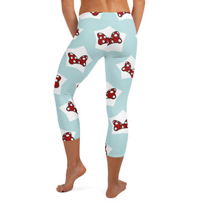 Minnie Bows leggings, Capris and Shorts