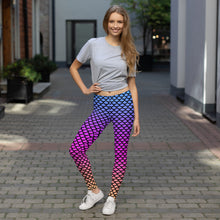 Load image into Gallery viewer, Unicorn Mermaid leggings, Capris and Shorts