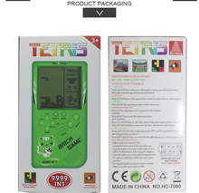 Load image into Gallery viewer, Retro Childhood Tetris Handheld Game Player Pink