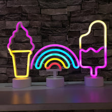 Load image into Gallery viewer, Colorful Rainbow LED Neon