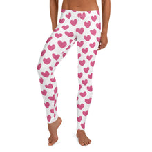 Load image into Gallery viewer, Pink Glitter Hearts Fitness Set